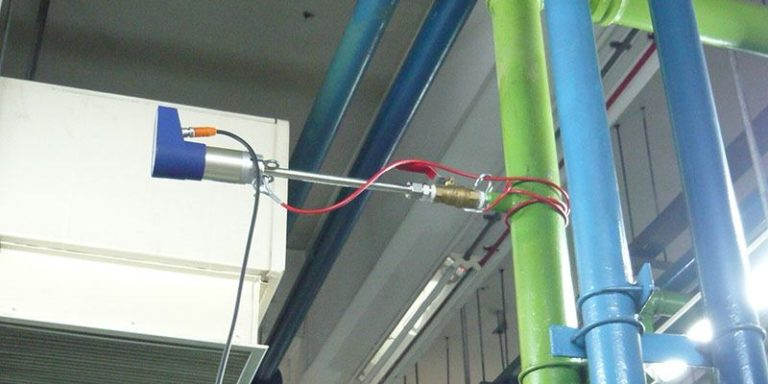 VPFlowScope installed in compressed air installation