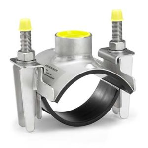 Hot Tap Saddle for Stainless Steel Piping